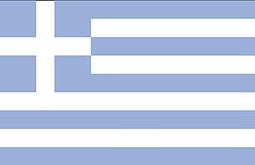 Flaga Grecja