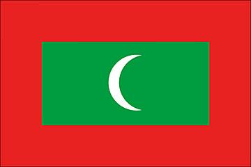 Flaga Malediwy width=