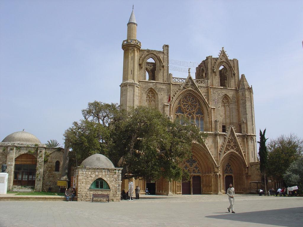 zabytki Famagusta cypr