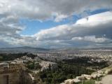 panarama ateny grecja
