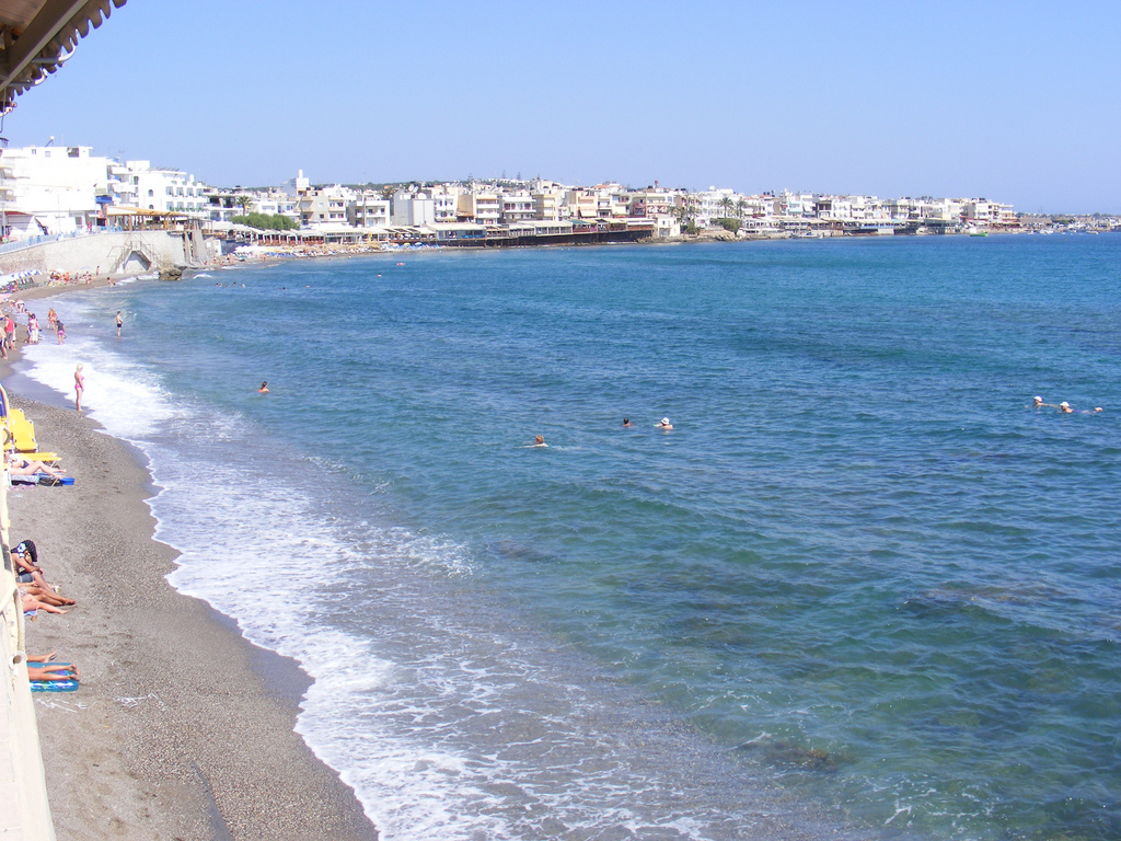 morze kreta grecja