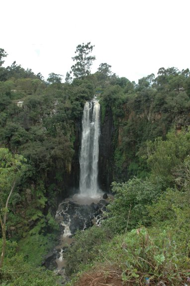 wodospad kenia