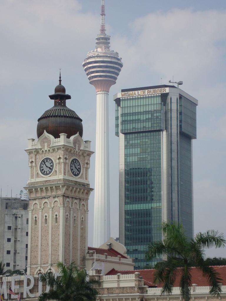 Menara wieza Kuala Lumpur malezja