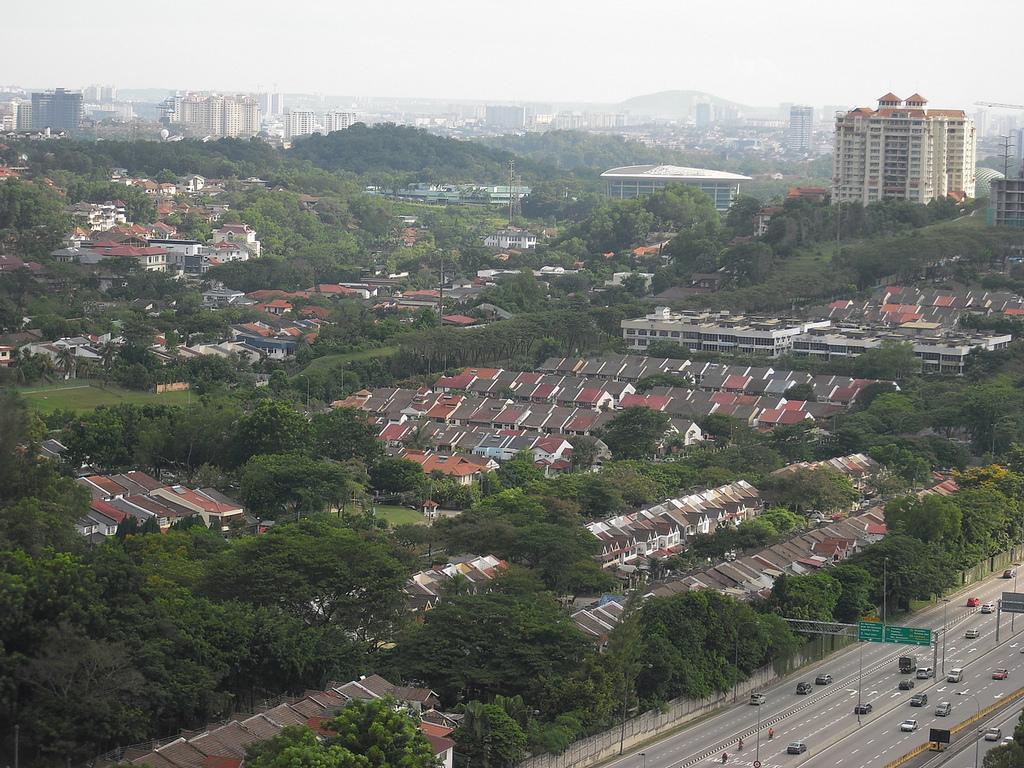panorama Kuala Lumpur malezja