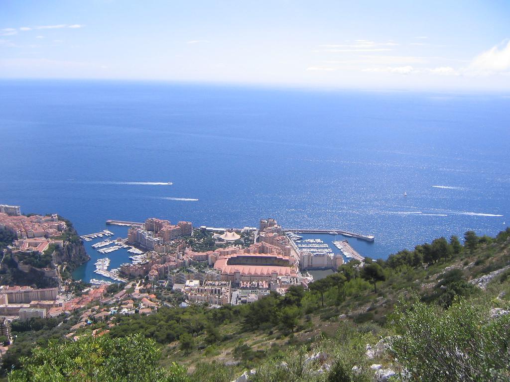 kasyno w Monako na mapie