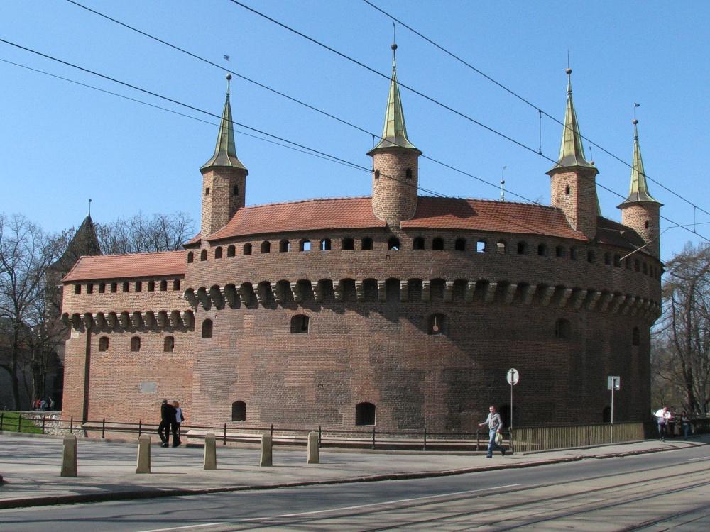 krakow barbakan polska