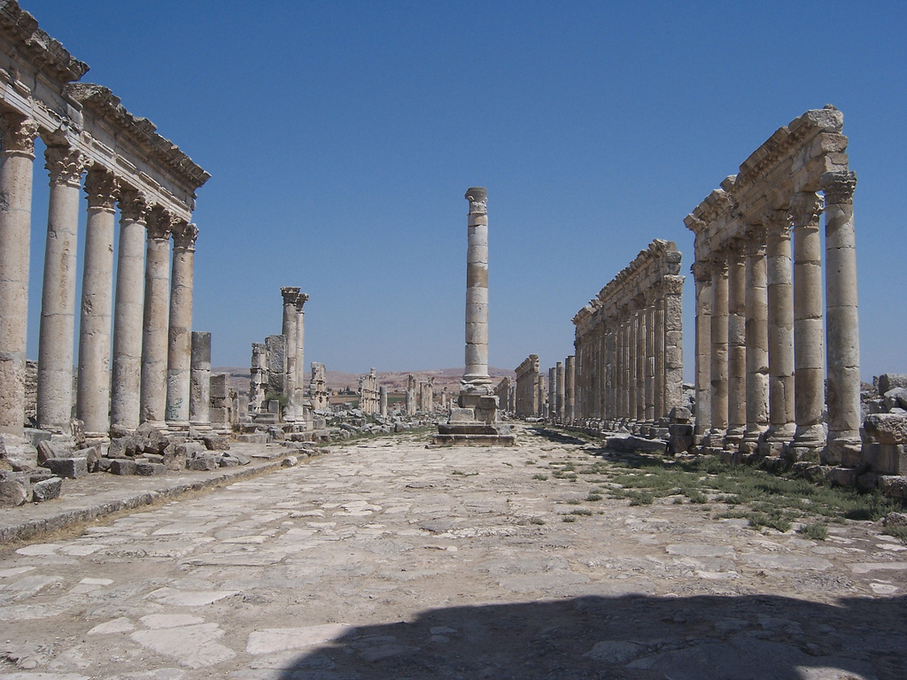 syria ruiny