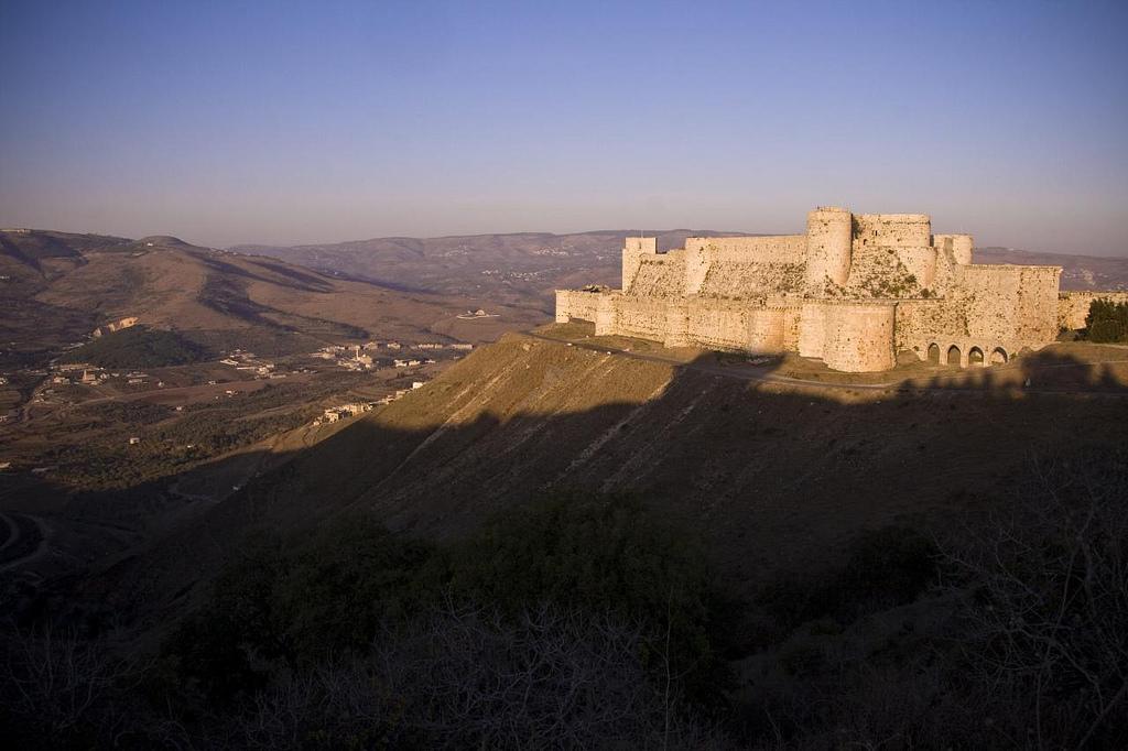 zamek syria