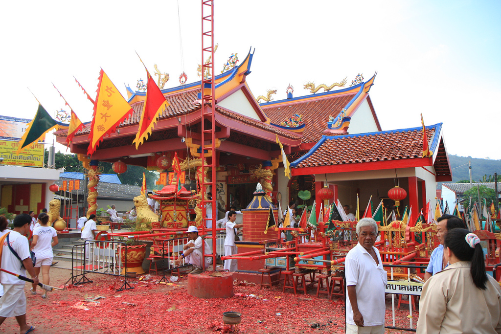 Phuket festiwal tajlandia