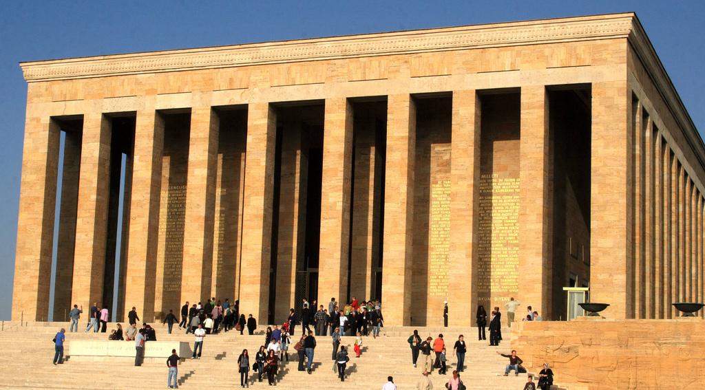 mauzoleum ankara turcja