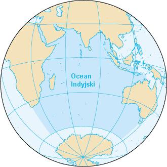 Obszar Oceanu Indyjskiego