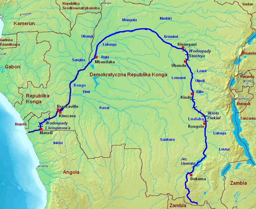Rzeka Kongo
