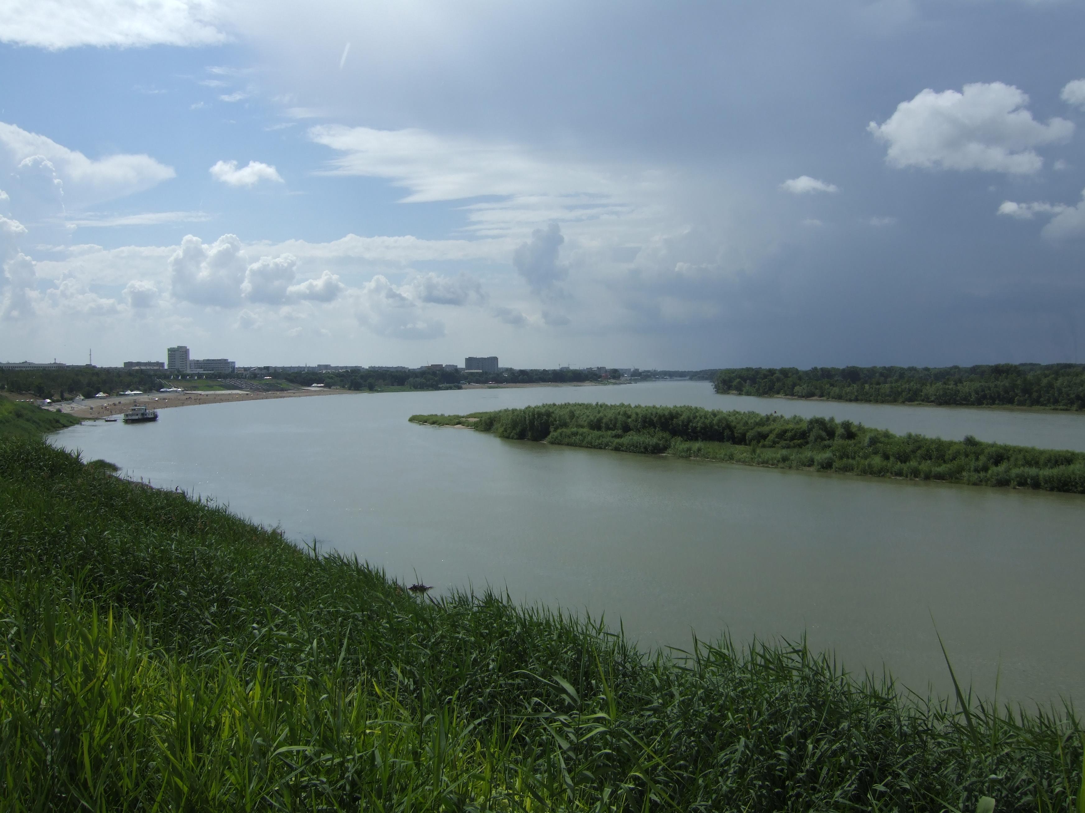 Rzeka Ob-Irtysz