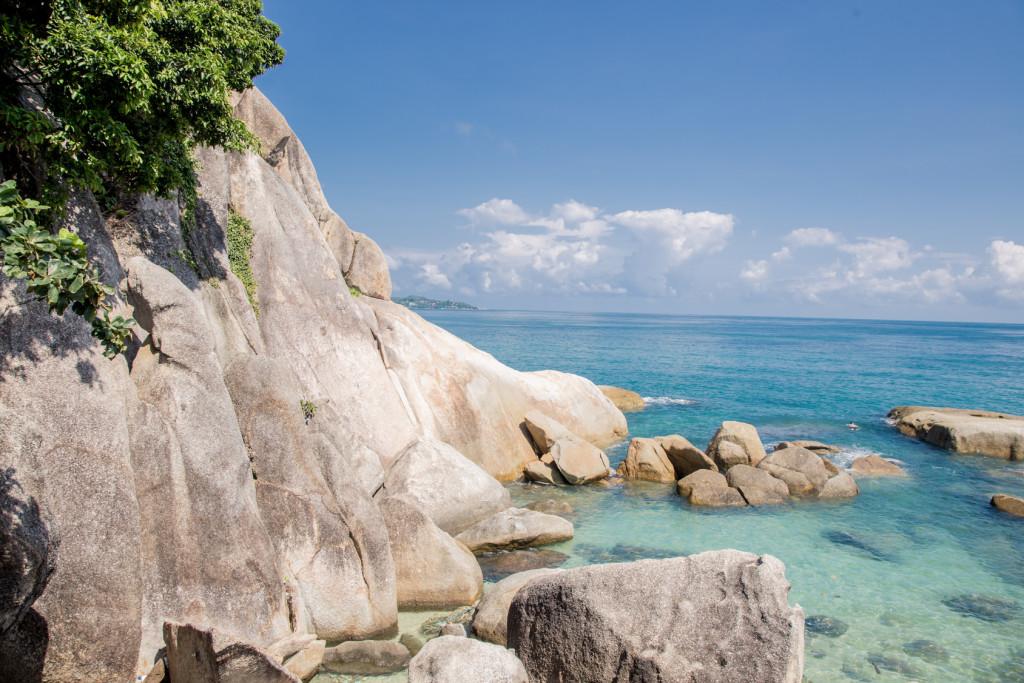 Lamai Beach Badebucht Koh Samui Thailand